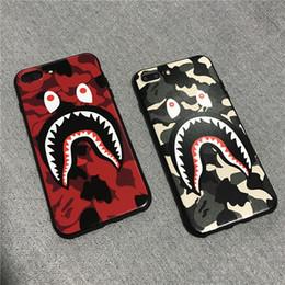 metal de tubarão Desconto Criativo shark phone case para iphone 7/8 x xr xs xs max tpu tampa do telefone macio tpu tampa do telefone