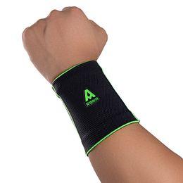 Argentina 1pcs elastic sports wrist support safe basketball badminton tennis wristband gym sports wristband #487073 Suministro