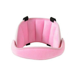 Almohadas para soporte de cuello online-El nuevo asiento de seguridad para la cabeza soporta la cabeza del niño almohada para dormir fija protección para el cuello reposacabezas de seguridad ajustable apoyo almohadilla