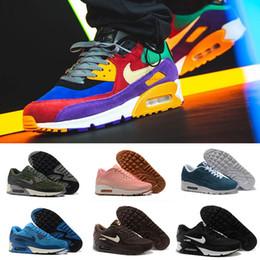 Top Qualität Air Max 90 Turnschuhe klassischer Art und Weise Maxes 90s Männer Frauen Schuhe Sport Trainer Air Cushion Oberfläche atmungsaktive Schuhe