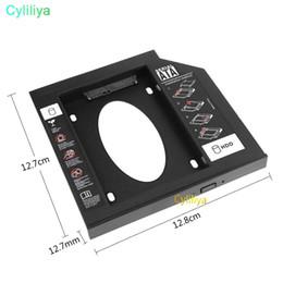 Evrensel 2.5 2nd 9.5mm 12.7 MM Ssd Hd SATA Sabit Disk Sürücüsü Ikinci HDD Caddy Adaptörü Cd Dvd Rom CDROM Optik Bay Için Standı Tutucu Bay Sürücü nereden 2.hdd ssd caddy tedarikçiler