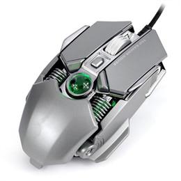 Cf luz online-Ratón para juegos con cable USB, ratones ergonómicos ajustables DPI RGB Light 1.5M Cable para CF / PUBG