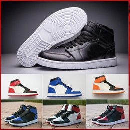 f31722d00 1 High OG Mid Mens Basketball Shoes Banned Bred Toe Shadow Gold Designer Mens  Sneakers Trainers 40-46 without box discount leather shoes without laces
