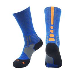 Serviettes de basket sueur en Ligne-9705 2019 chaussettes de basket-ball élite absorbant la transpiration absorbant la chaussette antidérapante pour chaussettes chaussettes de basketball pour hommes chaussettes sport en tube