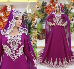 Vestido de coral línea de encanto online-Encantadora una línea de vestidos de noche musulmanes cariño cuello gasa apliques cremallera espalda palabra de moda vestidos de fiesta de las mujeres