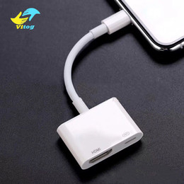 Ipad av online-Adaptador AV digital de 8 pines para cable IP a HDMI para IPX / 8/7 Adaptador de iPad Cable HDMI Adaptador de video de audio HD