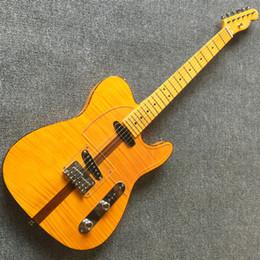 2019 fare chitarre Chitarra elettrica su misura di alta qualità Brown sandwich nuova chitarra Spedizione gratuita sconti fare chitarre