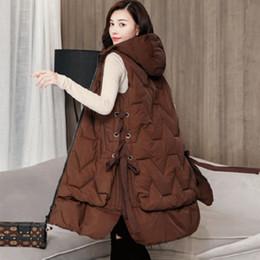 chaleco femenino abajo cubren 2019 otoño y el invierno llevar ropa de algodón de gran tamaño de la nueva moda desde fabricantes