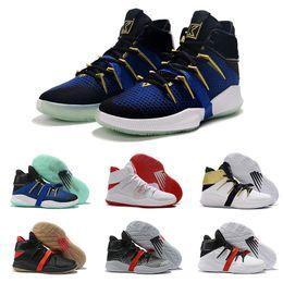 K2 online-New Balance NB Kawhi Leonard OMN1S Clipper Signature KL2 K2 Basketball Shoe Blue Gold Men Basket Ball Sneakers des chaussures Size US 7-12