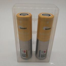 батарейки для элементов питания 377 Скидка 100% Высокое Качество IMR 18650 Аккумулятор 3500 мАч 3.7 В 30A 18650 Аккумуляторы Литиевые Аккумуляторы Fedex UPS Бесплатная Доставка