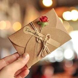 papel de trabajo hecho a mano Rebajas 18 UNIDS Trabajo hecho a mano Diseño de Flor Seca Elegante Tarjeta de Felicitación de Papel Creativo para Mujer Mujer Mujer Fiesta de Cumpleaños Boda