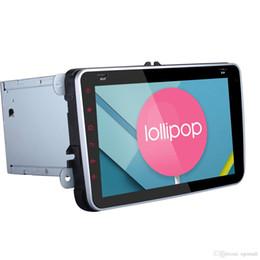 Vw jetta dvd on-line-Quad Core 1024 * 600 2 Din Android 5.1.1 VW Carro DVD GPS Navi GOLFE 6 Polo Bora JETTA PASSAT Tiguan