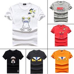 Nuevo verano camiseta corta de los hombres diseñador de la marca famosa para hombre caliente T camisa transpirable tw1 de calidad superior de algodón moda hombre desgaste fresco camiseta 1C desde fabricantes