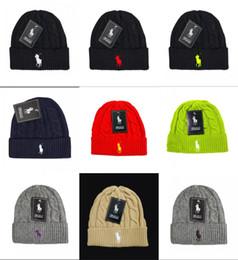 4c7d993ebc2 New Design Fashion Cartoon polo Beanie hats Street Hip Hop Beanie Winter  Warm hat Knitted Wool Hats for Women Men gorro Bonnet Caps cartoon winter  hats for ...