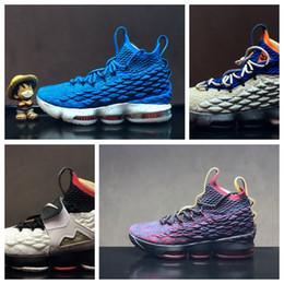 pretty nice 20f6f 507d8 lbj sneakers Rabatt Nike Air Lebron James LBJ15 LBJ heißer verkauf billig  Männer Frauen Sport draußen