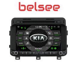"""Unidade de navegação na tela de toque on-line-Belsee DSP 8 """"Touch Screen Ram 4G Android 9.0 Car Radio GPS Navigation Multimedia Head Unit Stereo para Kia Optima K5 2014 2015 dvd do carro"""