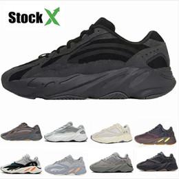 2019 zapatillas de moda Wave Runner 700 Zapatillas de running para hombre Geode Static Mauve Salt Inertia Moda Mujer Zapatillas de deporte Zapatillas de diseñador con caja StockX Tag 5-11.5 rebajas zapatillas de moda