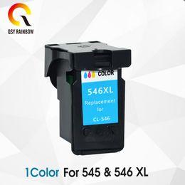 FOURNITURES CMYK COULEUR PG 545 CL 546 Cartouche d'encre remanufacturée couleur pour Canon PIXMA iP2850 MX495 MG2950 imprimantes à jet d'encre ? partir de fabricateur