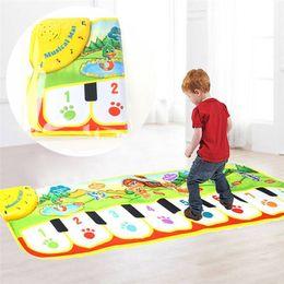 90 cm * 27 cm Coperta per pianoforte per bambini Coperta per il gioco del bambino Pad Tappetino da slittamento Attività coperta Kid Tappeto pianoforte per bambini da