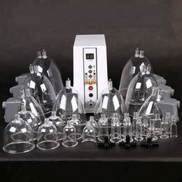 Máquina de succión al vacío con aumento de glúteos y bomba de aumento de senos femenina Dispositivo de cuidado de la salud con 29 tazas desde fabricantes
