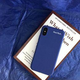 минималистский мобильный телефон Скидка Для Iphone 11 Pro Xs Max ХГ Минималистский Wind Синий Случай телефона 6 7 8 X Plus PC All-Inclusive жесткие сотовый телефон дела