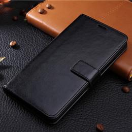 Étui en cuir pour iphone en Ligne-étui de téléphone en cuir pour iphone XS X MAX XR 5 5s SE 6 6S 7 Plus 8 Plus funda coque arrière couverture style portefeuille flip stand livre