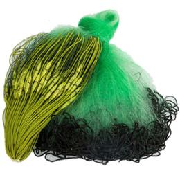 lavandino netto Sconti profondità 1,2 m-2,0 m leht 100 m monofilamento nylon appiccicoso rete da pesca cina 3 strati lavandino rete corda avvolta avvolto e boa rete di pesci
