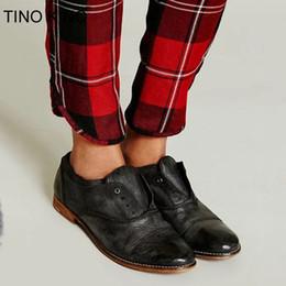 Классическая обувь Тино Кино Женщины Новый Урожай Осень Оксфорды Плюс Размер Дамы Скольжения На Толстом Каблуке Высокое Качество Pu Повседневная Женская Мода от Поставщики старинные толстые каблуки