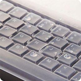 Pieles de escritorio online-1PC Silicona Cubierta universal para computadora Funda para teclado Funda para película Protector de piel