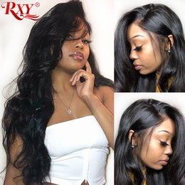 penteados completos Desconto 360 full lace perucas de cabelo humano onda do corpo do cabelo humano rendas frente perucas pré arrancadas glueless 360 full lace frente perucas de cabelo humano
