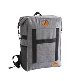 Grandes sacos isolados on-line-900D Engrossar Grande Isolamento Saco de Viagem Organizador BackPack Big Cooler Bag Recipiente de Embalagem Themal Bags Almoço Sacos de Entrega