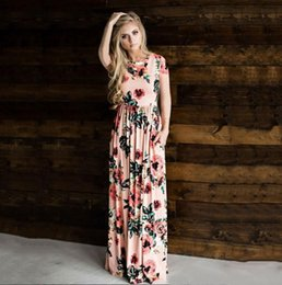 e5f025eebf558 casual maternity dresses for summer 2019 - Floral Printed Maternity Dresses  Clothes For Pregnant Women Long