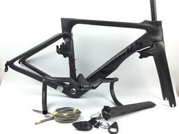 Telaio 52cm online-nuovo telaio contiene maniglie BOB telaio da strada in carbonio più nuovi Vias bici da strada telaio in carbonio 16 colori scelta moto più veloce del pianeta