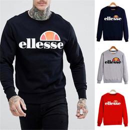 2019 univers hoodies Ellesse Marque Hommes Designer Imprimé Hoodies Lettre Noir Gris Marine Rouge 100% coton hommes de sport à capuche Designer Sweat à manches longues S-3XL