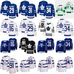billige authentische nhl hockey trikots Rabatt Benutzerdefinierte Toronto Maple Leafs weiß Stadium Series Jersey Any Number Name Männer Frauen Jugend Kind ARENAS Blue Marner Kapanen Kadri Rielly Tavares