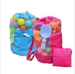 Panel de juguete online-bolsa de juguete para niños Playa de arena Bolsa de juguete Conchas de almacenamiento Bolsa de herramientas Bolsa de herramientas Organizador Shell Recibir bolsas de almacenamiento