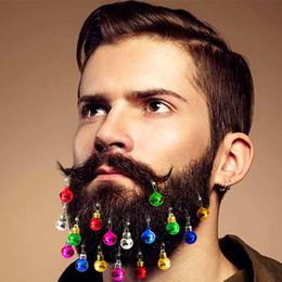 200 Noel Sakal Süsler Yüz Saç Aksesuarları Alet Yuvarlak Ampul Klipler Noel Santa Sakal Dekorasyon Erkekler Kolay Ekli nereden