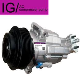 Компрессоры для кондиционирования воздуха онлайн-Автомобильный компрессор кондиционера для Chevrolet Cruze 2009-2011 Для Chevrolet LACETTI AC Compressor 13250596 68799768 135310475