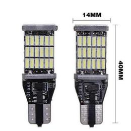 polizeiwagen strobe lichtleiste Rabatt Dhl versand super helle t15 w16w 921 45 smd led 4014 auto auto canbus marker lampen leselampe innenbeleuchtung lampe