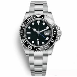 Orologio meccanico più cool online-Orologi da uomo economici di lusso Orologi da uomo d'affari di moda calendario in acciaio inossidabile freddo automatico meccanico orologio da polso all'ingrosso