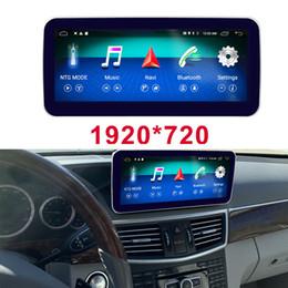 Pantalla mercedes benz online-Octa de 8 núcleos de CPU 4 + Pantalla de la unidad principal 64G radio de coche Bluetooth GPS para Mercedes Benz E300 E350 E400 2009-2016 E500 E200 E250