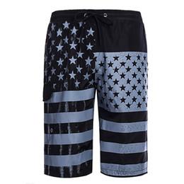 Pop2019 Внешняя Торговля Лето Pattern Человек Очарование Время Песчаный Пляж Европейская Личность U.s.a Национальный Флаг Печати Fivepence Pants от
