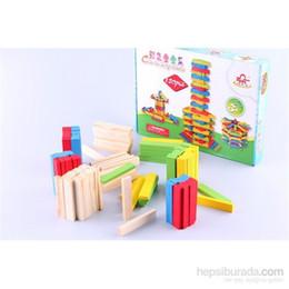 Argentina De color bloquea los juguetes de madera HB-001400036 Suministro