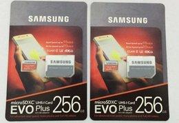 Canada Expédition DHL 8G / 16G / 32GB / 64GB / 128GB / 256GB Samsung EVO + Plus carte micro sd U3 / smartphone TF carte C10 / Tablet PC Carte mémoire SDXC 95MB / S Offre