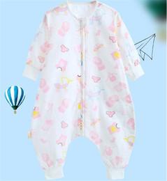 baumwolle bedruckte taschen für mädchen Rabatt Einhorn flamingo tier gedruckt baby baumwolle kleinkind schlafsack sack langarm tragbare decke mädchen jungen für frühling sommer herbst fj165