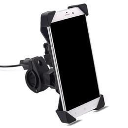 Спиновый телефон онлайн-Universal Car biker air outlet charger phone holder bracket four angle strongly fix  rotating spin for all the phone