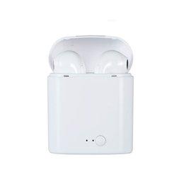 Новый i7S TWS Беспроводная Связь Bluetooth Наушники Bluetooth-гарнитуры Наушники Беспроводные воздушные Наушники с Зарядкой Box Mic Подарок для Android i10 supplier sony wireless headphones от Поставщики беспроводные наушники sony