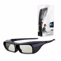 Sony 3d очки онлайн-Аккумуляторные 3d активные очки для Sony Tdg Br250b Bravia Hx800 Hx909 TV 2010-2012 Active Sutter 3d-очки Tdg-br250 / b T190628