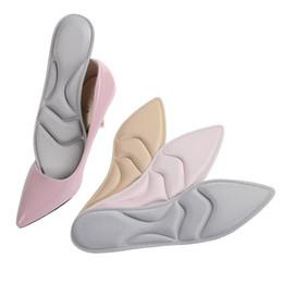 Semelle intérieure à talons hauts en mousse à mémoire en Ligne-Semelle en mousse à mémoire de forme pour semelles de chaussures femmes à talons hauts sueur absorbante confortable semelles respirantes de massage insert de coussin de chaussure