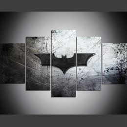 Rabatt Batman Canvas Painting 2019 Batman Canvas Painting Im